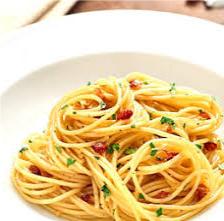 pasta aglio olio e bergamotto